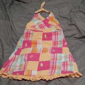 Gymboree Toddler Girl Halter Dress Size 3